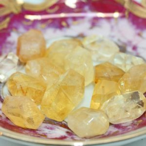 Shop Citrine Beads! Citrine Natural Faceted Chunk Beads / Irregular Nuggets / Citrine Beads 9-20mm / Depression Fighting Gemstone 1 BEAD | Natural genuine beads Citrine beads for beading and jewelry making.  #jewelry #beads #beadedjewelry #diyjewelry #jewelrymaking #beadstore #beading #affiliate #ad