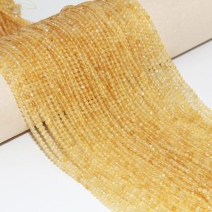Shop Citrine Beads! Natural Citrine Faceted Round Beads,Semi Precious Stone Beads,2mm  3mm 4mm Gemstone Beads,Crystals Round Beads,Quartz Beads,Jewelry Beads. | Natural genuine beads Citrine beads for beading and jewelry making.  #jewelry #beads #beadedjewelry #diyjewelry #jewelrymaking #beadstore #beading #affiliate #ad