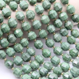 Shop Diopside Bracelets! Natural Diopside Beads,Round Faceted Beads,For Jewelry Making Beads,DIY Making Beads,Bracelet/Neckelace Beads,Good Quality Gemstone Beads | Natural genuine Diopside bracelets. Buy crystal jewelry, handmade handcrafted artisan jewelry for women.  Unique handmade gift ideas. #jewelry #beadedbracelets #beadedjewelry #gift #shopping #handmadejewelry #fashion #style #product #bracelets #affiliate #ad