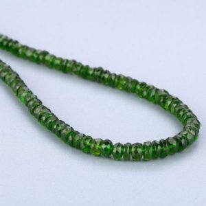Shop Diopside Necklaces! Genuine Chrome Diopside Necklace Stunning Elegant Necklace Green Stone Necklace Healing Necklace Adjustable Sterling Silver Lock Necklace | Natural genuine Diopside necklaces. Buy crystal jewelry, handmade handcrafted artisan jewelry for women.  Unique handmade gift ideas. #jewelry #beadednecklaces #beadedjewelry #gift #shopping #handmadejewelry #fashion #style #product #necklaces #affiliate #ad