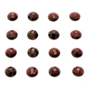 Shop Garnet Cabochons! Round faceted garnet,faceted garnet cabochon,gemstone cabochons,faceted cabochons,rose cut garnet,wine garnet gemstone,natural gemstones | Natural genuine stones & crystals in various shapes & sizes. Buy raw cut, tumbled, or polished gemstones for making jewelry or crystal healing energy vibration raising reiki stones. #crystals #gemstones #crystalhealing #crystalsandgemstones #energyhealing #affiliate #ad