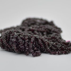 """Shop Garnet Chip & Nugget Beads! High Quality Grade A Natural Garnet Semi-precious Gemstone Chips Nuggets Beads – 5mm – 8mm, approx 36"""" Strand 