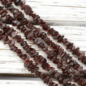 Shop Garnet Chip & Nugget Beads! Garnet Small Chips Beads 4-9.5mm (etb01367) Natural Gemstone / unique Jewelry / vintage Jewelry / gemstone Necklace | Natural genuine chip Garnet beads for beading and jewelry making.  #jewelry #beads #beadedjewelry #diyjewelry #jewelrymaking #beadstore #beading #affiliate #ad