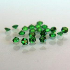 Shop Garnet Shapes! Loose Tsavorite stone Round 3mm lot faceted gemstone Natural green garnet loose gemstone lot | Natural genuine stones & crystals in various shapes & sizes. Buy raw cut, tumbled, or polished gemstones for making jewelry or crystal healing energy vibration raising reiki stones. #crystals #gemstones #crystalhealing #crystalsandgemstones #energyhealing #affiliate #ad