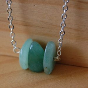 Shop Jade Pendants! Jade Necklace, Good Fortune Stone, Good Luck Stone, Crystal Jewelry, Jade Pendant,Jade Jewelry,Unisex Jewelry, Heart Chakra Stone, Love Gift | Natural genuine Jade pendants. Buy crystal jewelry, handmade handcrafted artisan jewelry for women.  Unique handmade gift ideas. #jewelry #beadedpendants #beadedjewelry #gift #shopping #handmadejewelry #fashion #style #product #pendants #affiliate #ad