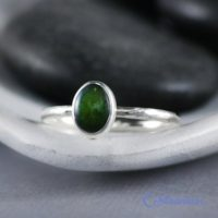 Delicate Oval Jade Promise Ring, Sterling Silver Jade Ring, Natural Jade Stacking Ring | Moonkist Designs | Natural genuine Gemstone jewelry. Buy crystal jewelry, handmade handcrafted artisan jewelry for women.  Unique handmade gift ideas. #jewelry #beadedjewelry #beadedjewelry #gift #shopping #handmadejewelry #fashion #style #product #jewelry #affiliate #ad