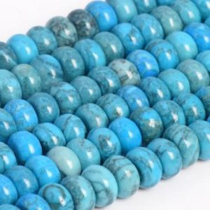 Shop Jasper Rondelle Beads! Natural Blue Crazy Lace Jasper Loose Beads Grade Rondelle Shape 6x4mm 8x5mm | Natural genuine rondelle Jasper beads for beading and jewelry making.  #jewelry #beads #beadedjewelry #diyjewelry #jewelrymaking #beadstore #beading #affiliate #ad