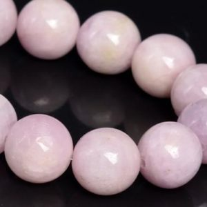 """Shop Kunzite Beads! 11MM Light Color Kunzite Beads Brazil Grade A+ Genuine Natural Gemstone Half Strand Round Loose Beads 7.5"""" (109137h-2879) 