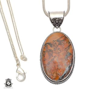 Shop Mookaite Pendants! Rare! Brecciated Mookaite Mook Jasper Pendant 4mm Snake Chain V680 | Natural genuine Mookaite pendants. Buy crystal jewelry, handmade handcrafted artisan jewelry for women.  Unique handmade gift ideas. #jewelry #beadedpendants #beadedjewelry #gift #shopping #handmadejewelry #fashion #style #product #pendants #affiliate #ad