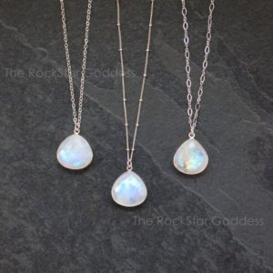 Shop Moonstone Pendants! Moonstone Necklace / Moonstone Pendant / Moonstone Jewelry / Silver Moonstone / June Birthstone / Gift for Her | Natural genuine Moonstone pendants. Buy crystal jewelry, handmade handcrafted artisan jewelry for women.  Unique handmade gift ideas. #jewelry #beadedpendants #beadedjewelry #gift #shopping #handmadejewelry #fashion #style #product #pendants #affiliate #ad