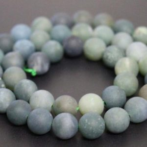 Shop Moss Agate Beads! Matte Moss agate Smooth and round beads Supply,6mm/8mm/10mm/12mm Agate Wholesale Beads,15 inches one starand | Natural genuine beads Moss Agate beads for beading and jewelry making.  #jewelry #beads #beadedjewelry #diyjewelry #jewelrymaking #beadstore #beading #affiliate #ad
