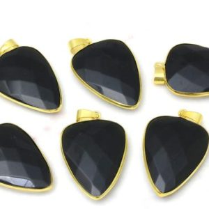 Shop Obsidian Pendants! Black Obsidian Pendant,jewelry making supplies,gemstone pendant,gemstone findings,brass findings,diy jewelry parts  – AA Quality | Natural genuine Obsidian pendants. Buy crystal jewelry, handmade handcrafted artisan jewelry for women.  Unique handmade gift ideas. #jewelry #beadedpendants #beadedjewelry #gift #shopping #handmadejewelry #fashion #style #product #pendants #affiliate #ad