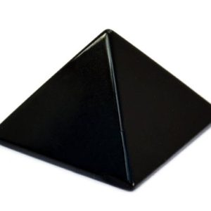 Shop Obsidian Shapes! Black Obsidian Pyramid – 25mm Healing Crystal Pyramid – Protective Gemstone – Reiki Chakra Healing | Natural genuine stones & crystals in various shapes & sizes. Buy raw cut, tumbled, or polished gemstones for making jewelry or crystal healing energy vibration raising reiki stones. #crystals #gemstones #crystalhealing #crystalsandgemstones #energyhealing #affiliate #ad