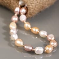 Moon Pearl Wedding Necklace, Wedding Necklace, pearl Necklace, Jewelry Set, Bridal Necklace, 20.5 Inch Necklace, exclusive Jewelry Collection | Natural genuine Gemstone jewelry. Buy handcrafted artisan wedding jewelry.  Unique handmade bridal jewelry gift ideas. #jewelry #beadedjewelry #gift #crystaljewelry #shopping #handmadejewelry #wedding #bridal #jewelry #affiliate #ad