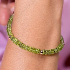 Shop Peridot Bracelets! Peridot Bracelet,Peridot Wheels AAA quality Party bracelet,Gift for wedding gift for women,Sterling silver chain adjustable bracelet for her | Natural genuine Peridot bracelets. Buy handcrafted artisan wedding jewelry.  Unique handmade bridal jewelry gift ideas. #jewelry #beadedbracelets #gift #crystaljewelry #shopping #handmadejewelry #wedding #bridal #bracelets #affiliate #ad