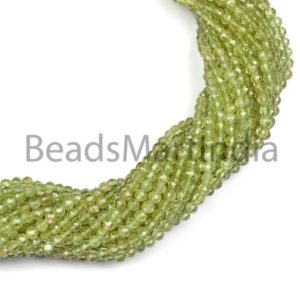 Shop Peridot Faceted Beads! Peridot Faceted Rondelle Machine Cut Beads, Natural Peridot Faceted Beads,Peridot Rondelle Beads, Peridot Beads, Peridot Machine Cut Beads | Natural genuine faceted Peridot beads for beading and jewelry making.  #jewelry #beads #beadedjewelry #diyjewelry #jewelrymaking #beadstore #beading #affiliate #ad