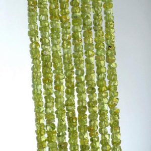 Shop Peridot Rondelle Beads! 4x2mm Peridot Gemstone Grade A Green Rondelle Loose Beads 14 inch Full Strand (90184954-899) | Natural genuine rondelle Peridot beads for beading and jewelry making.  #jewelry #beads #beadedjewelry #diyjewelry #jewelrymaking #beadstore #beading #affiliate #ad