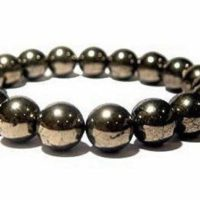 Pyrite Bracelet, Healing Bracelet, Protection Bracelet, Chakra Bracelet, Mens Bracelet, Bracelets For Women, Anxiety Relief Anxiety | Natural genuine Gemstone jewelry. Buy handcrafted artisan men's jewelry, gifts for men.  Unique handmade mens fashion accessories. #jewelry #beadedjewelry #beadedjewelry #shopping #gift #handmadejewelry #jewelry #affiliate #ad