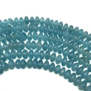 Shop Quartz Crystal Rondelle Beads! 8x5mm Blue Sponge Quartz Rondelle Beads, Gemstone Beads, Wholesale Beads | Natural genuine rondelle Quartz beads for beading and jewelry making.  #jewelry #beads #beadedjewelry #diyjewelry #jewelrymaking #beadstore #beading #affiliate #ad