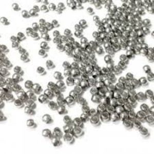 Shop Crimp Beads! Round Crimp beads Metal  silver color M1322 | Shop jewelry making and beading supplies, tools & findings for DIY jewelry making and crafts. #jewelrymaking #diyjewelry #jewelrycrafts #jewelrysupplies #beading #affiliate #ad