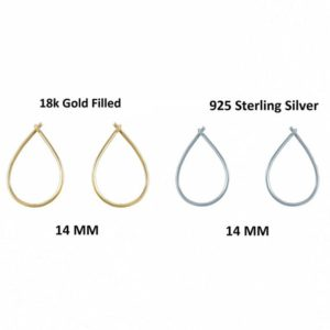Shop Ear Wires & Posts for Making Earrings! Set of 50 pairs 14 MM Earring Gold Vermeil DIY Hook, Open & Close Ear Wires, Jewelry Making 925 Silver Hook Earring, Wholesale jewelry | Shop jewelry making and beading supplies, tools & findings for DIY jewelry making and crafts. #jewelrymaking #diyjewelry #jewelrycrafts #jewelrysupplies #beading #affiliate #ad
