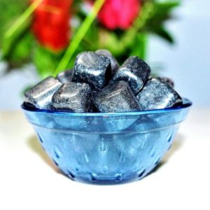 Shop Tumbled Shungite Crystals & Pocket Stones! 100 Gr Natural Silver Black Shungite Stone Metaphysical Meditation Healing Power Tumbled Pebbles | Natural genuine stones & crystals in various shapes & sizes. Buy raw cut, tumbled, or polished gemstones for making jewelry or crystal healing energy vibration raising reiki stones. #crystals #gemstones #crystalhealing #crystalsandgemstones #energyhealing #affiliate #ad
