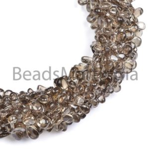 Shop Smoky Quartz Bead Shapes! Smoky Quartz Plain Pears Beads, Smoky Smooth Beads, Smoky Quartz Pears Beads, Pears Shape Beads, Smoky Quartz Beads, Smooth Smoky Quartz | Natural genuine other-shape Smoky Quartz beads for beading and jewelry making.  #jewelry #beads #beadedjewelry #diyjewelry #jewelrymaking #beadstore #beading #affiliate #ad