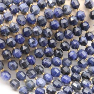 Shop Sodalite Bracelets! Natural Sodalite Beads,Round Faceted Beads,For Jewelry Making Beads,DIY Making Beads,Bracelet/Neckelace Beads,Good Quality Gemstone Beads | Natural genuine Sodalite bracelets. Buy crystal jewelry, handmade handcrafted artisan jewelry for women.  Unique handmade gift ideas. #jewelry #beadedbracelets #beadedjewelry #gift #shopping #handmadejewelry #fashion #style #product #bracelets #affiliate #ad