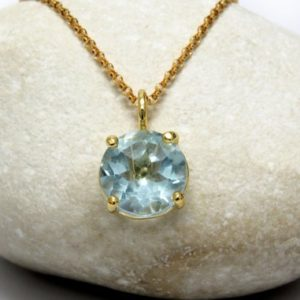 Shop Topaz Necklaces! topaz necklace,gold necklace,blue topaz necklace,prong setting necklace,long stone necklace | Natural genuine Topaz necklaces. Buy crystal jewelry, handmade handcrafted artisan jewelry for women.  Unique handmade gift ideas. #jewelry #beadednecklaces #beadedjewelry #gift #shopping #handmadejewelry #fashion #style #product #necklaces #affiliate #ad