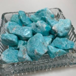 Shop Tumbled Amazonite Crystals & Pocket Stones! 1 AMAZONITE Tumbled Stone – Natural Crystal – Untreated – Unaltered – Healing Crystal – Meditation Stone – From Peru – (4-25)g | Natural genuine stones & crystals in various shapes & sizes. Buy raw cut, tumbled, or polished gemstones for making jewelry or crystal healing energy vibration raising reiki stones. #crystals #gemstones #crystalhealing #crystalsandgemstones #energyhealing #affiliate #ad