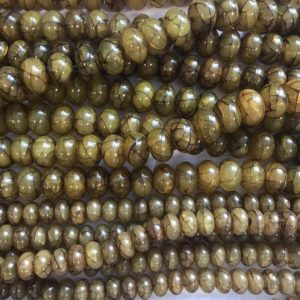 Shop Amber Rondelle Beads! reconstructed amber 12x7mm 15x10mm rondelle   Gemstone Bead–15.5 inch strand-1 strand/3 strands | Natural genuine rondelle Amber beads for beading and jewelry making.  #jewelry #beads #beadedjewelry #diyjewelry #jewelrymaking #beadstore #beading #affiliate #ad