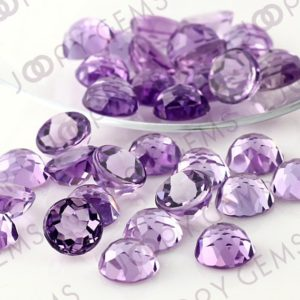 Shop Amethyst Stones & Crystals! Amethyst (brazilian) Rose Cut Cabochon 8mm Round – Per Stone | Natural genuine stones & crystals in various shapes & sizes. Buy raw cut, tumbled, or polished gemstones for making jewelry or crystal healing energy vibration raising reiki stones. #crystals #gemstones #crystalhealing #crystalsandgemstones #energyhealing #affiliate #ad