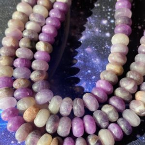 Shop Amethyst Rondelle Beads! Rustic Natural Matte Chevron Amethyst rondelles 8mm / frosted purple   Natural genuine rondelle Amethyst beads for beading and jewelry making.  #jewelry #beads #beadedjewelry #diyjewelry #jewelrymaking #beadstore #beading #affiliate #ad