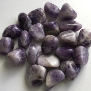 Shop Tumbled Amethyst Crystals & Pocket Stones! Amethyst Banded Grade A Large Stone,Chevron Amethyst tumbled stone,Healing Stone, Protective Stone, Healing Crystal,Spiritual Stone   Natural genuine stones & crystals in various shapes & sizes. Buy raw cut, tumbled, or polished gemstones for making jewelry or crystal healing energy vibration raising reiki stones. #crystals #gemstones #crystalhealing #crystalsandgemstones #energyhealing #affiliate #ad