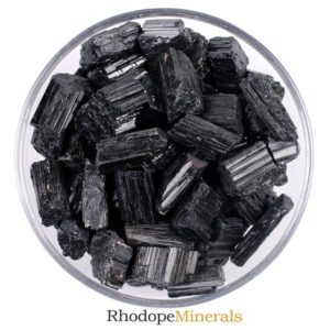 Shop Raw & Rough Black Tourmaline Stones! One Black Tourmaline Rough Stone, Black Tourmaline Stones, Black Tourmaline Stone, Black Tourmaline Rough Rocks, Black Tourmaline Crystals | Natural genuine stones & crystals in various shapes & sizes. Buy raw cut, tumbled, or polished gemstones for making jewelry or crystal healing energy vibration raising reiki stones. #crystals #gemstones #crystalhealing #crystalsandgemstones #energyhealing #affiliate #ad
