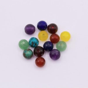 Shop Chakra Beads! CH01 ~ Chakra Beads (4mm) ~ 14/pkg | Shop jewelry making and beading supplies, tools & findings for DIY jewelry making and crafts. #jewelrymaking #diyjewelry #jewelrycrafts #jewelrysupplies #beading #affiliate #ad