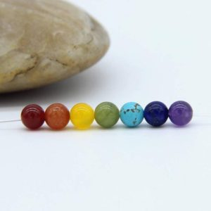 Shop Chakra Beads! Chakra Beads 6mm 7 Chakra Beads Set Chakra Beads 7 Chakra Gemstones Chakra Mala Beads Chakra Jewelry Supplies Meditation Gemstone Supplies | Shop jewelry making and beading supplies, tools & findings for DIY jewelry making and crafts. #jewelrymaking #diyjewelry #jewelrycrafts #jewelrysupplies #beading #affiliate #ad