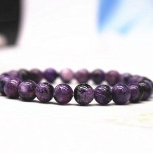 Shop Charoite Bracelets! Natural AA Genuine Charoite Beads Bracelet,Genuine Charoite Beaded Bracelet,Jewelry Gift Bracelet,wholesale bracelet,bulk bracelet supply | Natural genuine Charoite bracelets. Buy crystal jewelry, handmade handcrafted artisan jewelry for women.  Unique handmade gift ideas. #jewelry #beadedbracelets #beadedjewelry #gift #shopping #handmadejewelry #fashion #style #product #bracelets #affiliate #ad