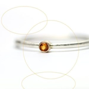Shop Citrine Rings! Minimalistic Golden Citrine Silver 14K Yellow Gold Ring Cute Delicate Stackable Summer Orange Sun Glow Gift Idea November Birthstone – Micro | Natural genuine Citrine rings, simple unique handcrafted gemstone rings. #rings #jewelry #shopping #gift #handmade #fashion #style #affiliate #ad