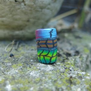"""Shop Dread Beads! Dreadlockperle, Dread Bead """"Green Lantern"""" 