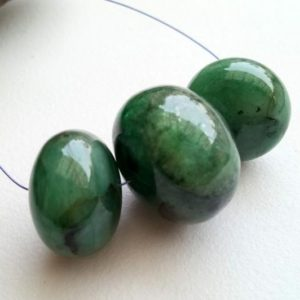 Shop Emerald Rondelle Beads! 14.5-21mm Emerald Plain Rondelle Bead, Natural Huge Emerald Gemstone, RARE Emerald Rondelle Drilled, 1 Piece Original Emerald – AUSPH51 | Natural genuine rondelle Emerald beads for beading and jewelry making.  #jewelry #beads #beadedjewelry #diyjewelry #jewelrymaking #beadstore #beading #affiliate #ad