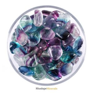 Shop Tumbled Fluorite Crystals & Pocket Stones! One 1 Rainbow Fluorite Tumbled Stone, Rainbow Fluorite Tumbled Stones, Rainbow Fluorite Tumbled Stone, Gemstones Fluorite Rainbow, Gemstones | Natural genuine stones & crystals in various shapes & sizes. Buy raw cut, tumbled, or polished gemstones for making jewelry or crystal healing energy vibration raising reiki stones. #crystals #gemstones #crystalhealing #crystalsandgemstones #energyhealing #affiliate #ad