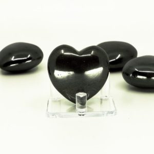 Shop Hematite Shapes! Hematite Puffy Heart – Grounding stone, Stone of the Mind, Protection | Natural genuine stones & crystals in various shapes & sizes. Buy raw cut, tumbled, or polished gemstones for making jewelry or crystal healing energy vibration raising reiki stones. #crystals #gemstones #crystalhealing #crystalsandgemstones #energyhealing #affiliate #ad