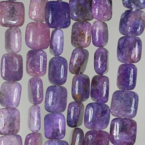 Shop Lepidolite Bead Shapes! 10X10mm Violet Purple Lepidolite Gemstone Grade AA Square Loose Beads 15.5 inch Full Strand (90188401-668) | Natural genuine other-shape Lepidolite beads for beading and jewelry making.  #jewelry #beads #beadedjewelry #diyjewelry #jewelrymaking #beadstore #beading #affiliate #ad