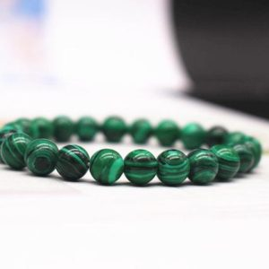 Natural Green Malachite Beads Bracelet,Green Malachite Beaded Bracelet,Jewelry Gift Bracelet,wholesale bracelet,bulk bracelet supply | Natural genuine Gemstone jewelry. Buy crystal jewelry, handmade handcrafted artisan jewelry for women.  Unique handmade gift ideas. #jewelry #beadedjewelry #beadedjewelry #gift #shopping #handmadejewelry #fashion #style #product #jewelry #affiliate #ad