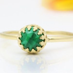 Shop Malachite Jewelry! Malachite ring,tiny gemstone ring,delicate gem ring,delicate,ring,everyday rings,minimalist gold ring,personalized ring | Natural genuine Malachite jewelry. Buy crystal jewelry, handmade handcrafted artisan jewelry for women.  Unique handmade gift ideas. #jewelry #beadedjewelry #beadedjewelry #gift #shopping #handmadejewelry #fashion #style #product #jewelry #affiliate #ad