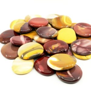 Shop Mookaite Jasper Shapes! Mookaite palmstone – 2pcs, Crystal Healing, Strength, Vitality, Life Force | Natural genuine stones & crystals in various shapes & sizes. Buy raw cut, tumbled, or polished gemstones for making jewelry or crystal healing energy vibration raising reiki stones. #crystals #gemstones #crystalhealing #crystalsandgemstones #energyhealing #affiliate #ad