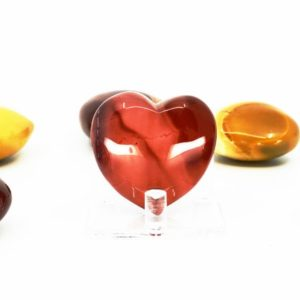 Shop Mookaite Jasper Shapes! Mookaite Puffy Heart – Crystal Healing, Strength, Vitality, Life Force | Natural genuine stones & crystals in various shapes & sizes. Buy raw cut, tumbled, or polished gemstones for making jewelry or crystal healing energy vibration raising reiki stones. #crystals #gemstones #crystalhealing #crystalsandgemstones #energyhealing #affiliate #ad