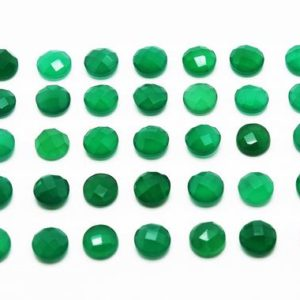 Shop Onyx Cabochons! Round faceted cabochon,green onyx gemstone,faceted loose stone,loose cabochons,calibrated gemstones,green cabochons sale – AA Quality | Natural genuine stones & crystals in various shapes & sizes. Buy raw cut, tumbled, or polished gemstones for making jewelry or crystal healing energy vibration raising reiki stones. #crystals #gemstones #crystalhealing #crystalsandgemstones #energyhealing #affiliate #ad