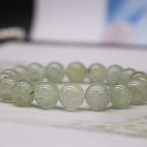 Shop Prehnite Bracelets! Natural Prehnite beads Bracelet,Prehnite Beaded Bracelet,Jewelry Gift Bracelet,wholesale bracelet,bulk bracelet supply | Natural genuine Prehnite bracelets. Buy crystal jewelry, handmade handcrafted artisan jewelry for women.  Unique handmade gift ideas. #jewelry #beadedbracelets #beadedjewelry #gift #shopping #handmadejewelry #fashion #style #product #bracelets #affiliate #ad
